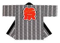 【祭・踊り半天】  天竺(綿100%)