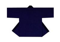 【無地半天】濃紺  Gポプリン(綿100%) 同色の帯付