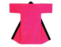 【無地長半天】ピンク  Gポプリン(綿100%)