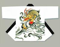 【長半天】  刺繍 太番手糸(綿100%)