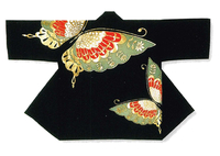 【祭・踊り半天】  アクリル100% 金銀箔付