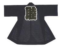 【綿絽長半天】   綿絽(綿100%) (濃紺)