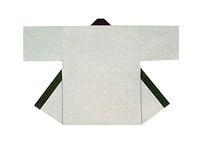 【無地半天】グレー  Gポプリン(綿100%) 同色の帯付