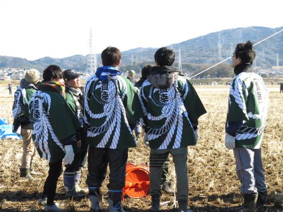 幸田町は(株)豊幸様の法被を作成させて頂きました。  地元の凧揚げ大会に参加用として、会社カラーであるグリーンを基調としたデザインで作成しました♪  大空高く舞い上がれ~。
